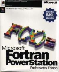کامپایلر فرترن Microsoft Fortran PowerStation