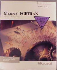 Microsoft FORTRAN Compiler Version Information