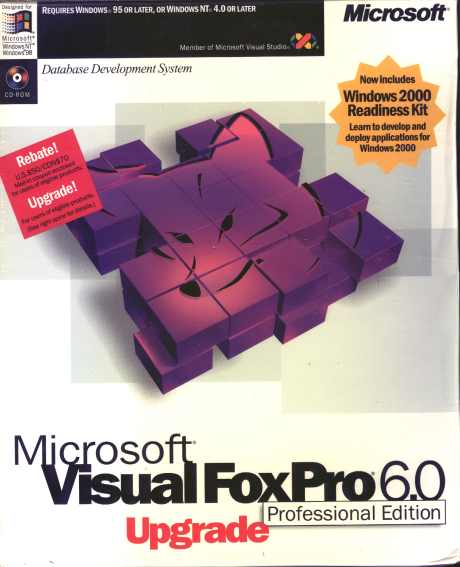 microsoft foxpro  foxbase version information